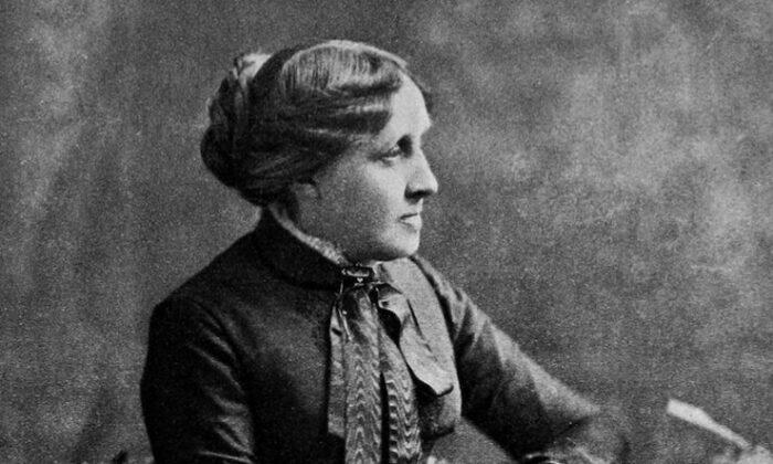 "Louisa May Alcott (1832–1888), author of ""Little Women."" (Public domain)"