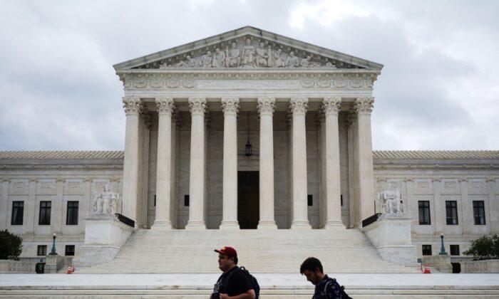 The U.S. Supreme Court is seen in Washington, D.C. on Sept. 1, 2021. (Mandel Ngan/AFP via Getty Images)