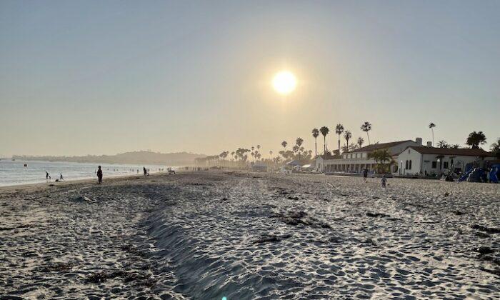 A view of East Beach looking towards Stearn's Wharf in Santa Barbara, Calif. (Photo courtesy of Karen Gough)