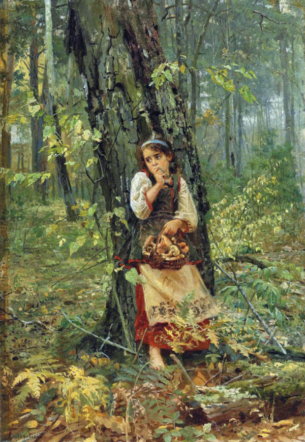 Nikolai_Kornilievich_Bodarevsky_-_Deep_in_the_Forest
