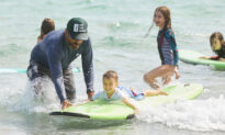 Florida Couple Teaches Homeschooled Kids Science at Skatepark and While Surfing at the Beach