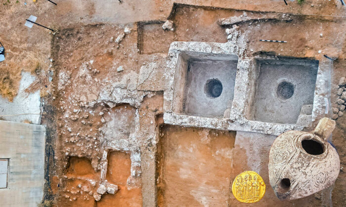 (Courtesy of Assaf Peretz/Israel Antiquities Authority)