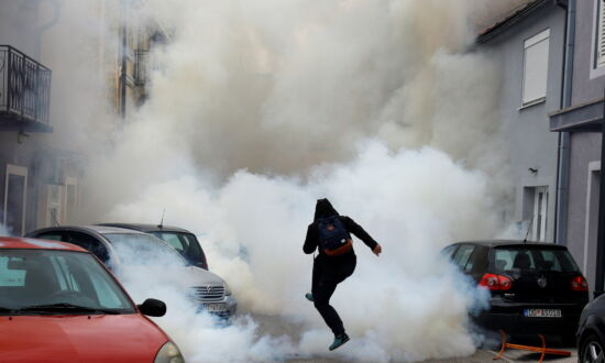 Montenegro Police Fire Teargas at Protesters Incensed Over Cleric's Enthronement