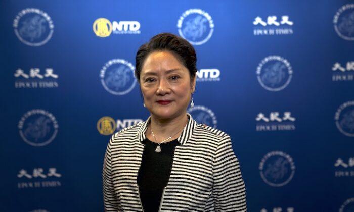 NTD International Classical Chinese Dance Competition judge Minghui. (NTD)