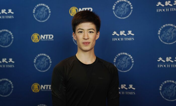 Jesse Browde participated inthe 9th NTD International Classical Chinese Dance Competition in New York state on Sept. 4, 2021. (The Epoch Times)