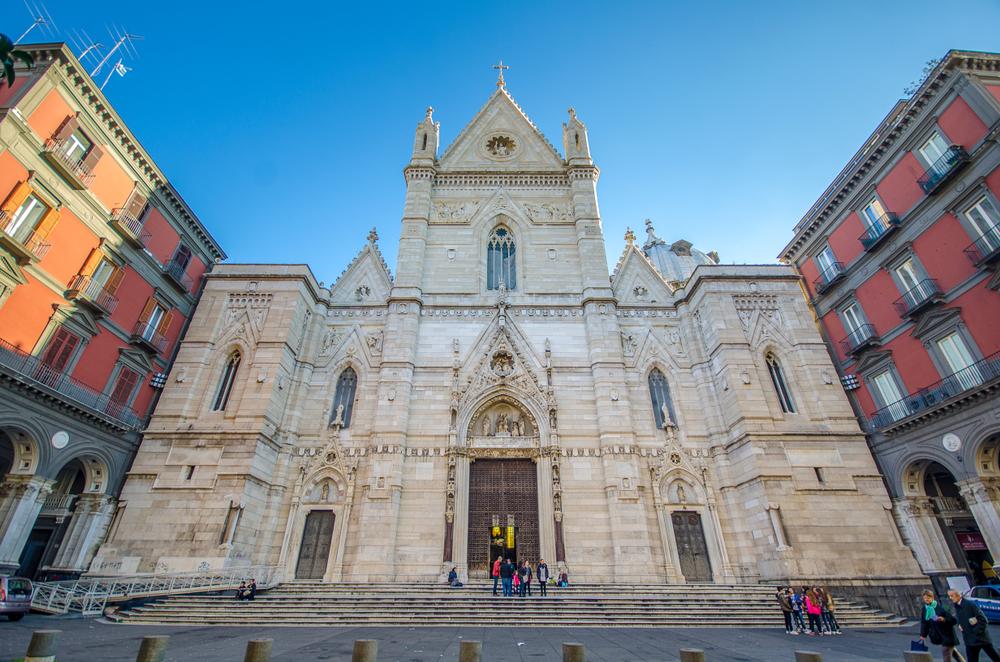 Naples,,Italy,-,17.01.2020:,Duomo,Di,Santa,Maria,Assunta,Or