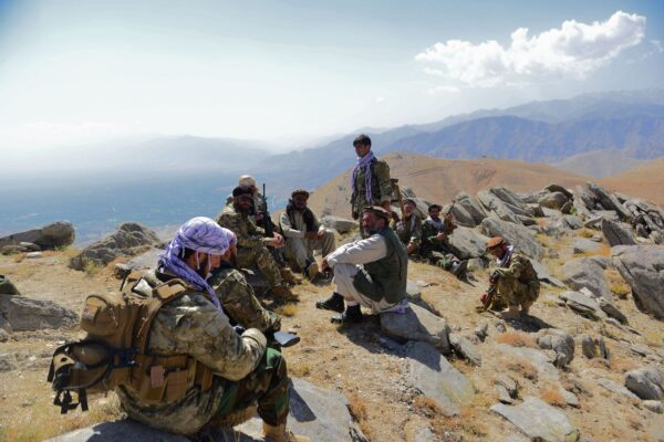 Afghan resistance movement and anti-Taliban forces
