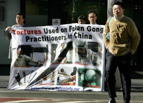 persecution of Falun Gong