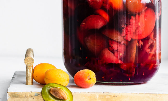 In the dark and cold of winter, opening up a crock of bachelor's jam will return you to the brightness of summer. (Jennifer McGruther)