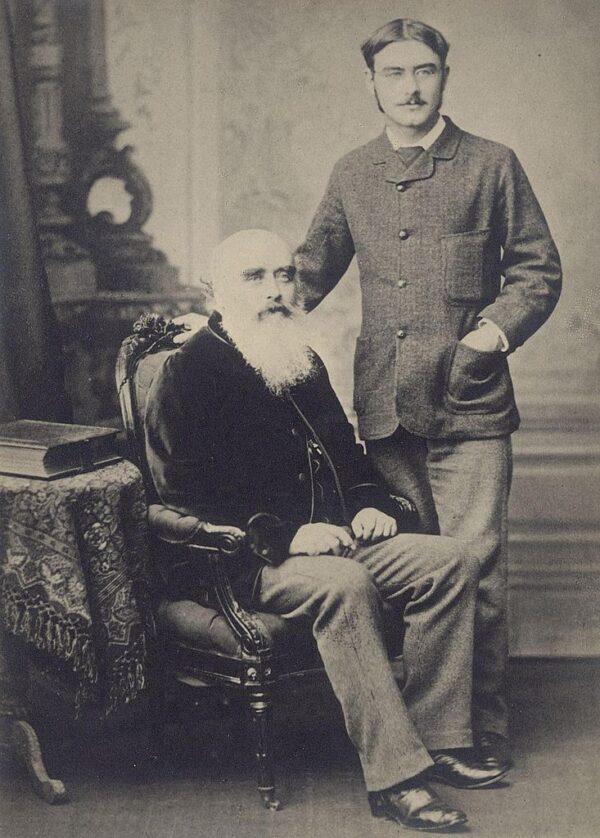 Kipling and his father