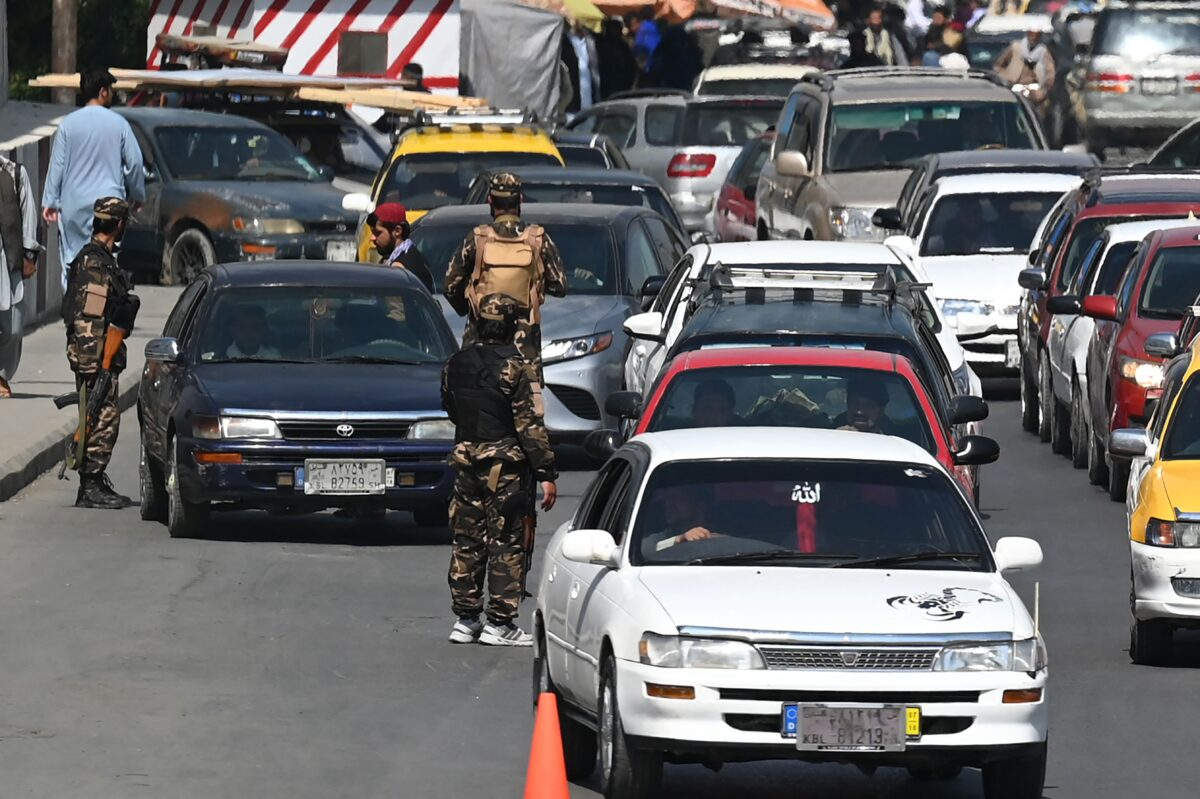 Taliban checkpoints