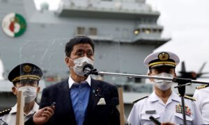 UK Aircraft Carrier Visits Japan for Drill Amid China Worry
