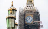 Big Ben Refurbishment Shows Off Original Colour Scheme