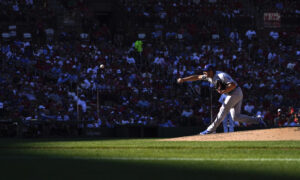 Scherzer Undefeated as Starting Pitcher for the Dodgers