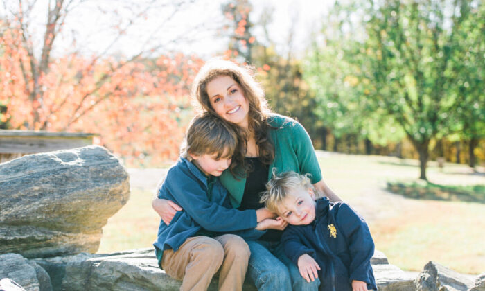 Dr. Sina McCullough and her two boys. (Photo courtesy of Dr. Sina McCullough)