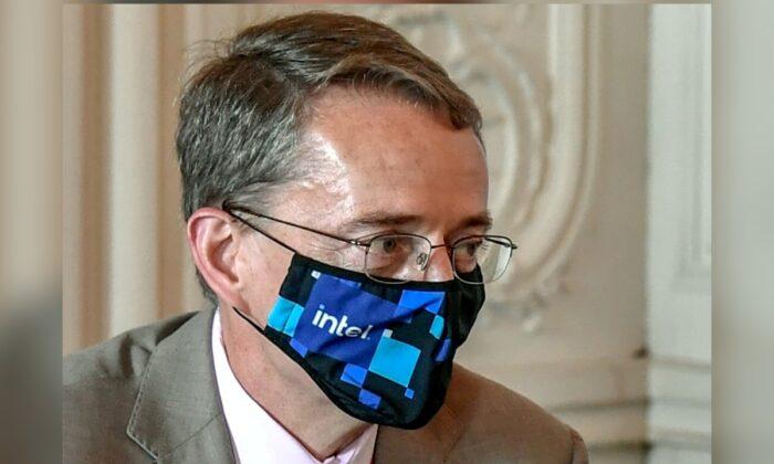 Intel CEO Pat Gelsinger attends an international business leaders' meeting in Versailles, France, on June 28, 2021. (Stephane de Sakutin/Pool via Reuters)
