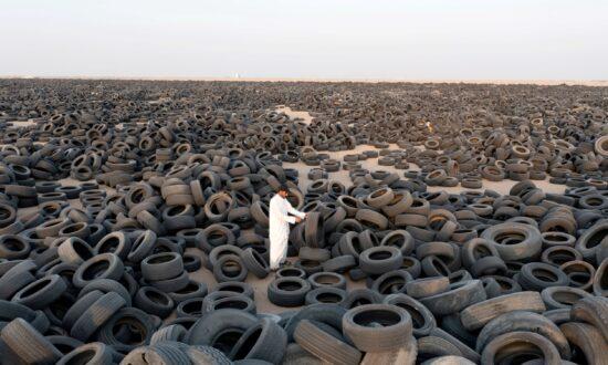 Kuwait Starts to Recycle Massive Tire Graveyard