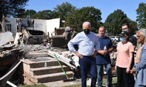 Biden Administration Asks Congress for Funds for Ida, Afghans