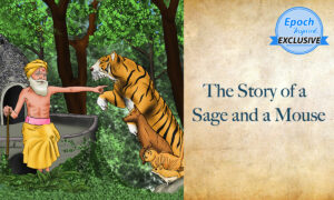 Ancient Tales of Wisdom: The Story of a Sage and a Mouse