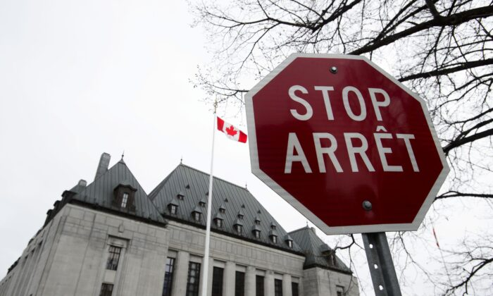 The Supreme Court of Canada in a file photo. (The Canadian Press/Sean Kilpatrick)