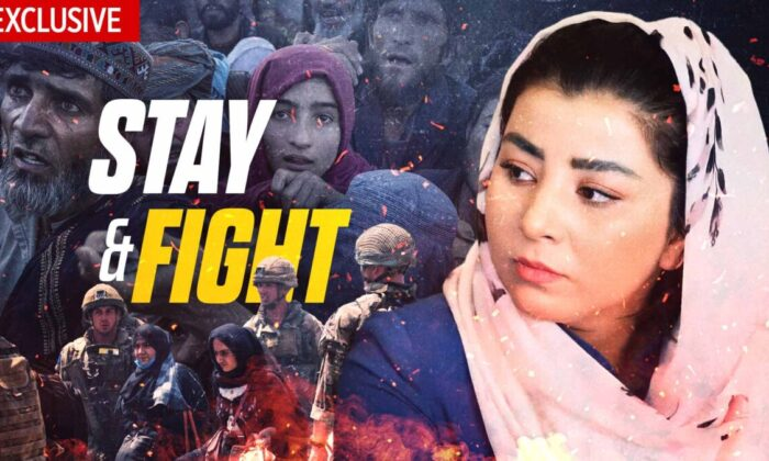 EpochTV Review: Kabul Woman Risks Life to Stay and Advocate for Her People
