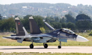 Russia Moves Sukhoi Su-30 Fighter Jets to Belarus to Patrol Borders, Minsk Says