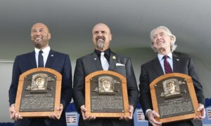 Yankees Star Derek Jeter Inducted Into Baseball Hall of Fame