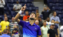 Set Down, Djokovic Tops Berrettini at US Open, Nears Year Slam