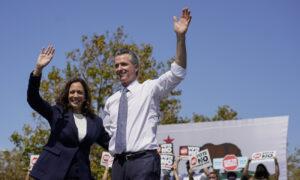 Harris Rallies for California Governor Facing Recall Election