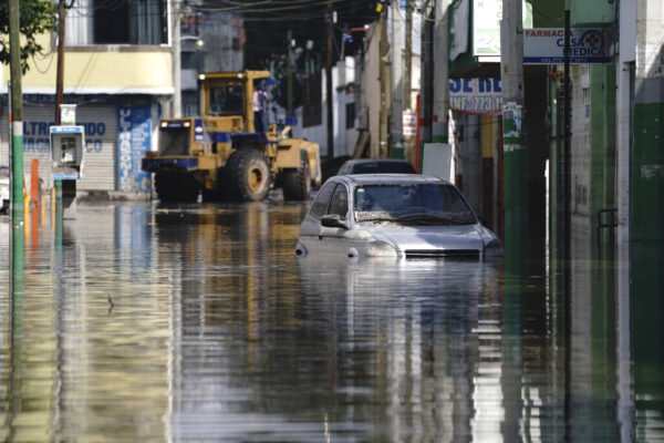 flooded street mexico