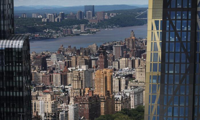 Manhattan skyline in New York City on June 13, 2019. (Spencer Platt/Getty Images)