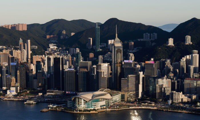 A general view of skyline buildings, in Hong Kong, China on July 13, 2021. (Tyrone Siu/Reuters)