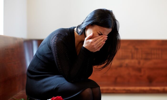 There is additional trauma to understand when loss of a loved one is also marred by an act of violence. (Syda Productions/Shutterstock)