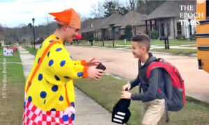 Teen Dresses Up in Costumes Everyday for Little Brother