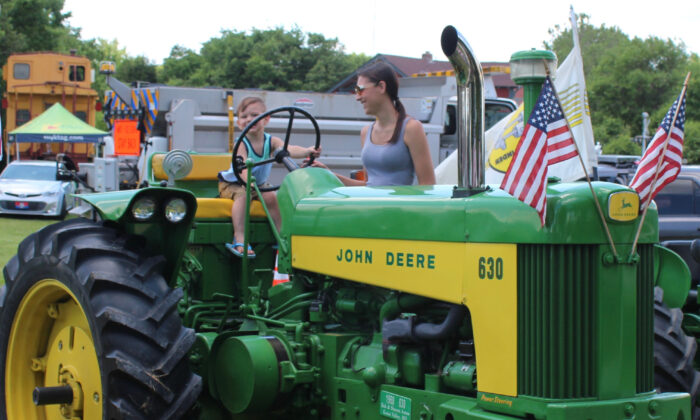 Visitors learn how farms work at the National Agricultural Center and Hall of Fame in Bonner Springs, Kan. (Courtesy of the National Agricultural Center and Hall of Fame)