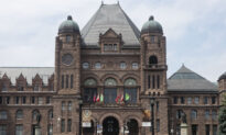 First Responders Silently Protest Mandatory COVID-19 Vaccination at Ontario Legislature