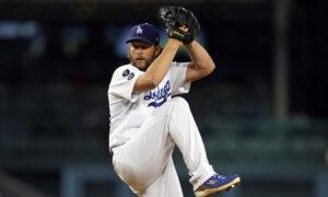 Kershaw Strikes Out 5 in Return, Dodgers Beat Diamondbacks 5-1