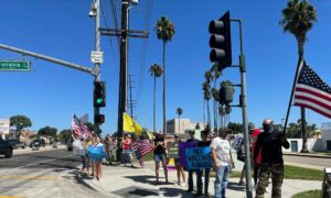 South Bay Residents Protest Against Mask and Vaccine Mandates