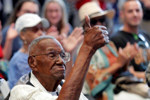 World War II veteran Lawrence Brooks