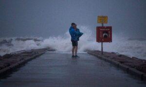Nicholas Weakens Into Tropical Storm, Battering Texas, Louisiana With Rain