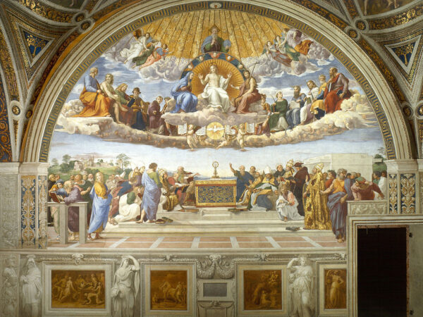 Disputation of the Holy Sacrament-Raphael