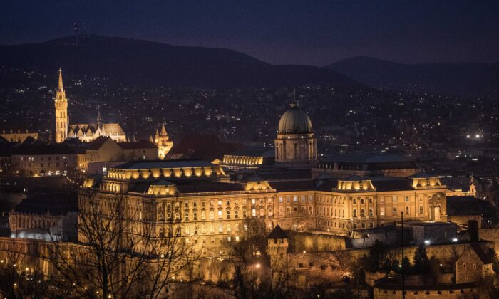 Buda Castle is seem in Budapest, Hungary, on Jan. 17, 2019. (Chris McGrath/Getty Images)