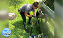 'Faith in the Human Spirit Restored': Young Man Offers to Change Woman's Tire for Free