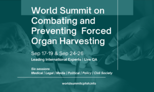LIVE: World Summit Against Forced Organ Harvesting : An Alarm to Humankind