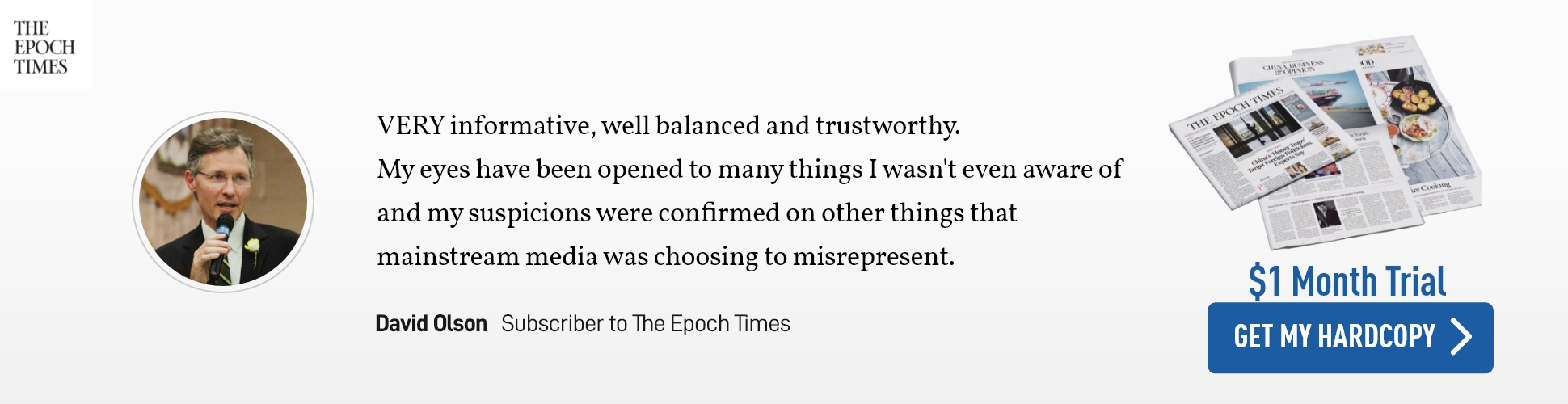 Subscribe to The Epoch Times