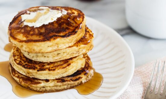 For Plush Pancakes Every Time, Use Almond Flour