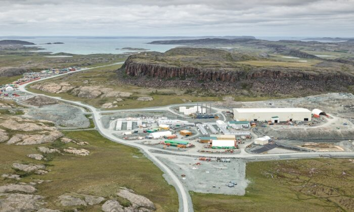 The Agnico Eagle Hope Bay gold mine is shown in Nunavut in this undated handout photo. (The Canadian Press/HO Agnico Eagle, Mathieu Dupuis)