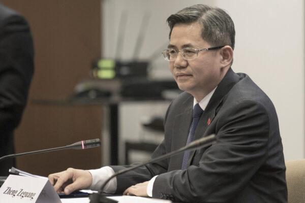 Britain China Ambassador Barred
