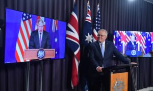 Keep It Coming: Beijing's Aggressive Rhetoric Pushing Australia Into America's Arms