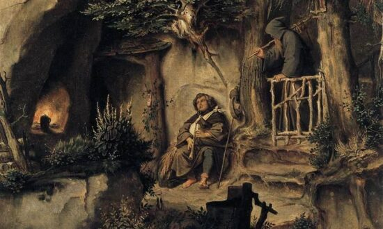 Arts: Finding Rest in Art: Moritz von Schwind's 'A Player With a Hermit'